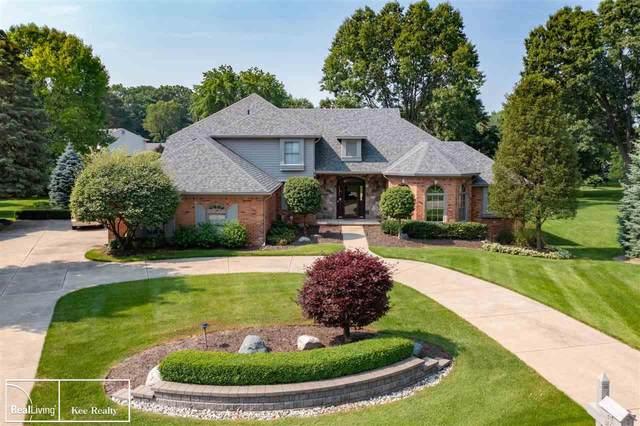 3888 St. James Ct, Shelby, MI 48316 (MLS #50047684) :: Kelder Real Estate Group