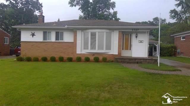 1327 Arella Blvd., Ann Arbor, MI 48103 (MLS #50048173) :: Kelder Real Estate Group