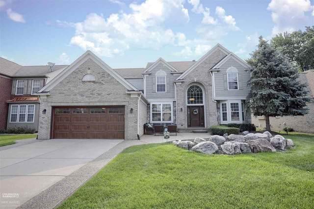 49592 Crusader Dr., Macomb, MI 48044 (MLS #50048996) :: Kelder Real Estate Group