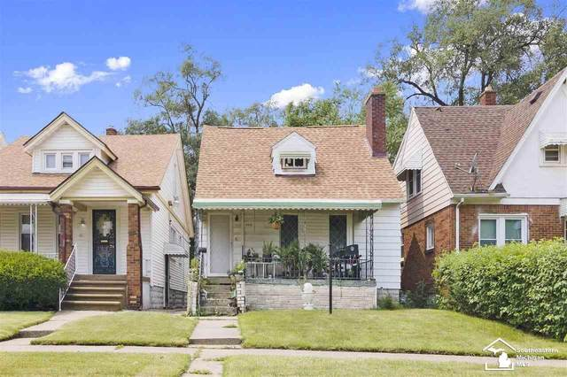 18825 Russell St, Detroit, MI 48203 (MLS #50049420) :: The BRAND Real Estate