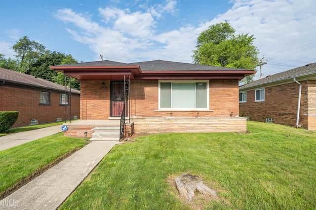 20225 Strathmoor, Detroit, MI 48235 (MLS #50049426) :: The BRAND Real Estate