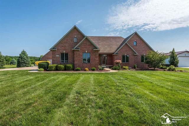 3290 N Otter Creek Rd, Monroe, MI 48161 (MLS #50049458) :: Kelder Real Estate Group