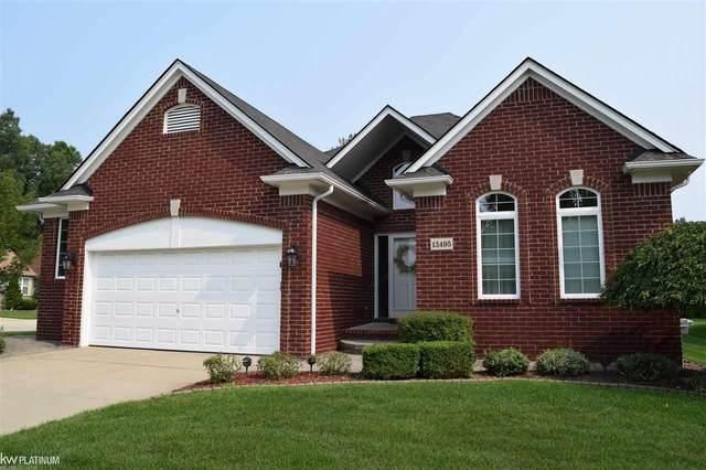 13495 Snowdrift, Sterling Heights, MI 48313 (MLS #50049774) :: Kelder Real Estate Group