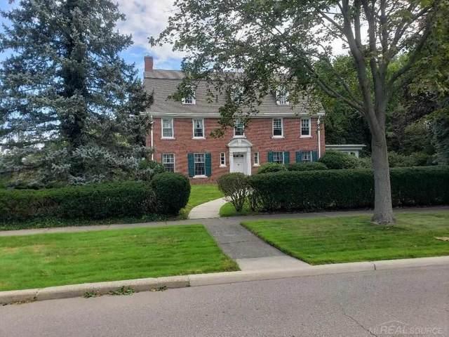 798 Berkshire, Grosse Pointe Park, MI 48230 (MLS #50053129) :: The BRAND Real Estate