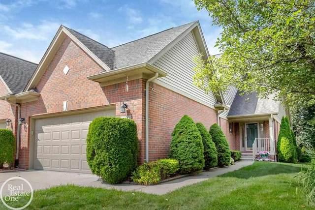 49071 Hidden Woods Lane #2, Shelby Twp, MI 48317 (MLS #50053816) :: The BRAND Real Estate