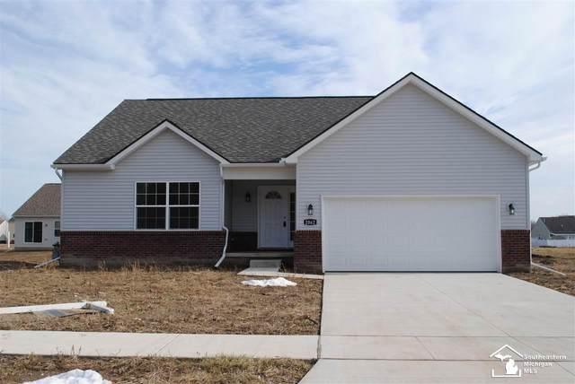 2048 Danville Lot #90, Monroe, MI 48162 (MLS #50053871) :: Kelder Real Estate Group