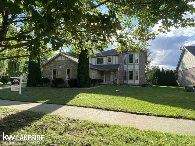 52487 Deerwood Dr., Macomb, MI 48042 (MLS #50055681) :: The BRAND Real Estate