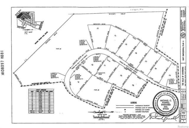 132 Forest Way, Davisburg, MI 48350 (MLS #217102951) :: The John Wentworth Group