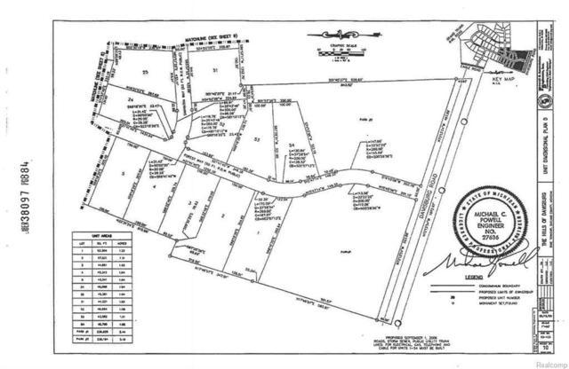100 Forest Way, Davisburg, MI 48350 (MLS #217103028) :: The John Wentworth Group