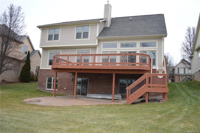453 Lakeshore Pointe Dr, Howell, MI 48843 (MLS #217111425) :: The John Wentworth Group