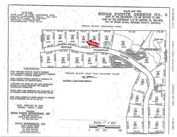 16697 Kings Fairway Lane, Grand Blanc, MI 48439 (MLS #100000925) :: Kelder Real Estate Group