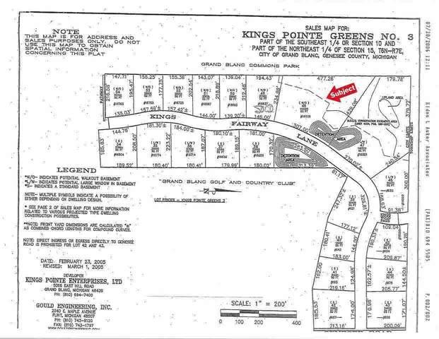 16609 Kings Fairway Lane, Grand Blanc, MI 48439 (MLS #100000922) :: Kelder Real Estate Group
