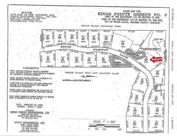 16551 Kings Fairway Lane, Grand Blanc, MI 48439 (MLS #100000921) :: Kelder Real Estate Group