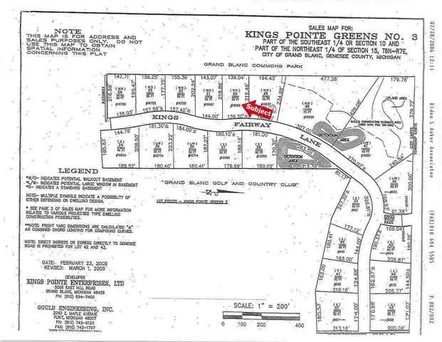 16665 Kings Fairway Lane, Grand Blanc, MI 48439 (MLS #100000924) :: Kelder Real Estate Group