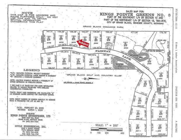 16725 Kings Fairway Lane, Grand Blanc, MI 48439 (MLS #100000926) :: Kelder Real Estate Group