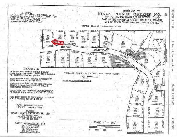 16783 Kings Fairway Lane, Grand Blanc, MI 48439 (MLS #100000928) :: Kelder Real Estate Group