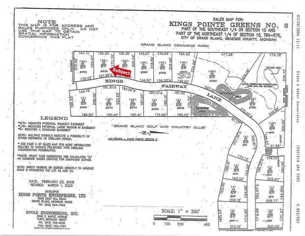 16753 Kings Fairway Lane, Grand Blanc, MI 48439 (MLS #100000927) :: Kelder Real Estate Group