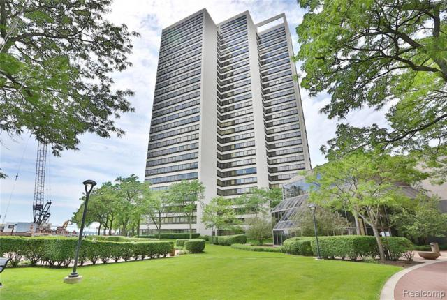 300 Riverfront Dr Unit#15E, Detroit, MI 48226 (MLS #219046481) :: The Tom Lipinski Team at Keller Williams Lakeside Market Center