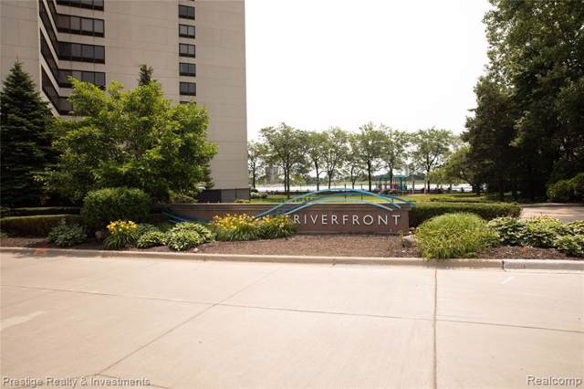 1001 W W. Jefferson Ave W Unit#10 J-Bldg#, Detroit, MI 48226 (MLS #219085356) :: The Tom Lipinski Team at Keller Williams Lakeside Market Center