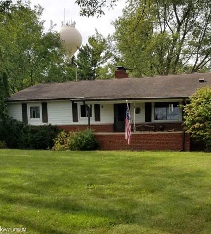 4682 Howland, Almont, MI 48006 (MLS #31396019) :: The John Wentworth Group