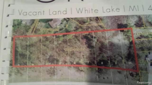 VAC Highland Rd, White Lake, MI 48383 (MLS #2200047070) :: The Tom Lipinski Team at Keller Williams Lakeside Market Center