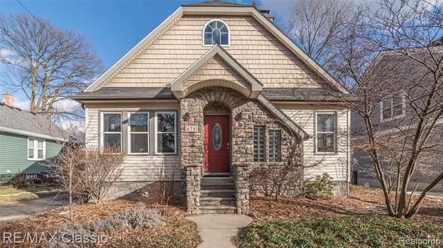 678 Ann St, Plymouth, MI 48170 (MLS #2210014428) :: The BRAND Real Estate