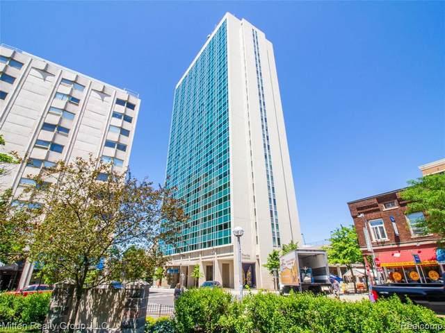 555 E William St Apt 21G, Ann Arbor, MI 48104 (MLS #2210025489) :: The BRAND Real Estate