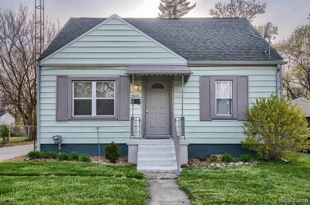 5401 Dupont St, Flint, MI 48505 (MLS #2210029771) :: The BRAND Real Estate