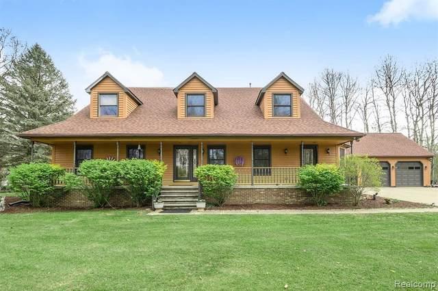 4344 Bullard Rd, Hartland, MI 48353 (MLS #2210033952) :: The BRAND Real Estate