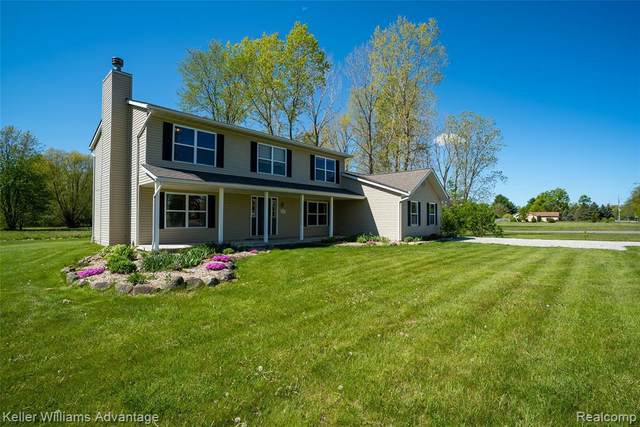 9140 Martz Rd, Ypsilanti, MI 48197 (MLS #2210033897) :: The BRAND Real Estate