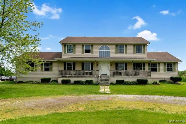 1520 Buhl Rd, Newport, MI 48166 (MLS #2210040019) :: The BRAND Real Estate