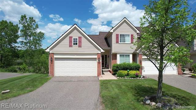 4451 Willow View Crt, Howell, MI 48843 (MLS #2210043470) :: The BRAND Real Estate