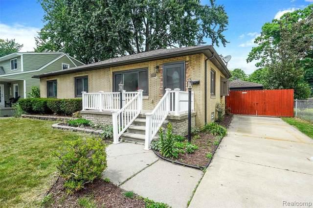 1033 E Pearl Ave, Hazel Park, MI 48030 (MLS #2210043870) :: Kelder Real Estate Group