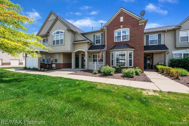 4248 Hampton Ridge Blvd Unit#152, Howell, MI 48843 (MLS #2210041394) :: The BRAND Real Estate
