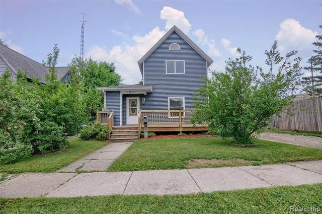 107 N Mercer St, Durand, MI 48429 (MLS #2210044426) :: Kelder Real Estate Group