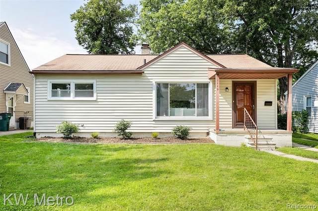 2113 Brockton Ave, Royal Oak, MI 48067 (MLS #2210037487) :: Kelder Real Estate Group