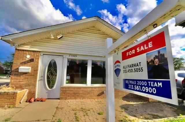 25505 Plymouth Rd, Redford, MI 48239 (MLS #2210049652) :: Kelder Real Estate Group