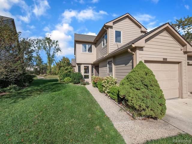 3380 Bent Trail Dr, Ann Arbor, MI 48108 (MLS #2210050267) :: Kelder Real Estate Group