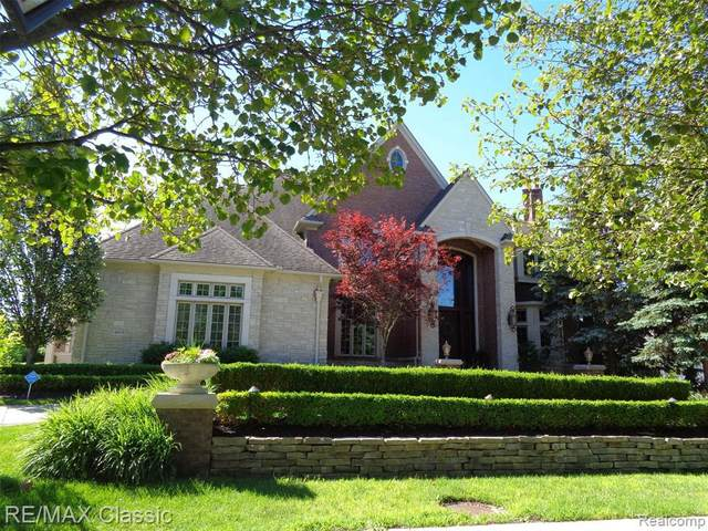 4600 Oakhurst Ridge Rd, Clarkston, MI 48348 (MLS #2210050837) :: Kelder Real Estate Group