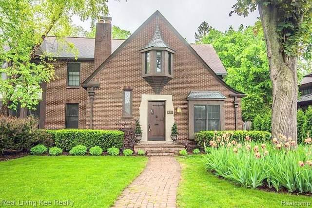 419 Pilgrim Ave, Birmingham, MI 48009 (MLS #2210050582) :: Kelder Real Estate Group
