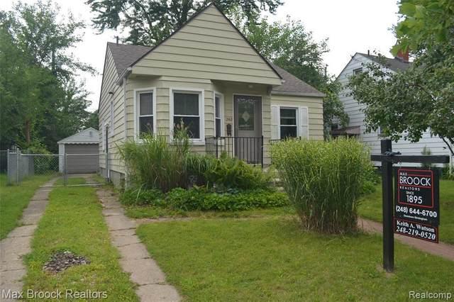 260 Academy St, Ferndale, MI 48220 (MLS #2210047461) :: The BRAND Real Estate