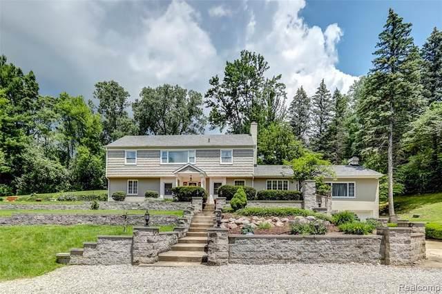 4675 Avondale Terrace, Bloomfield Hills, MI 48304 (MLS #2210051932) :: Kelder Real Estate Group