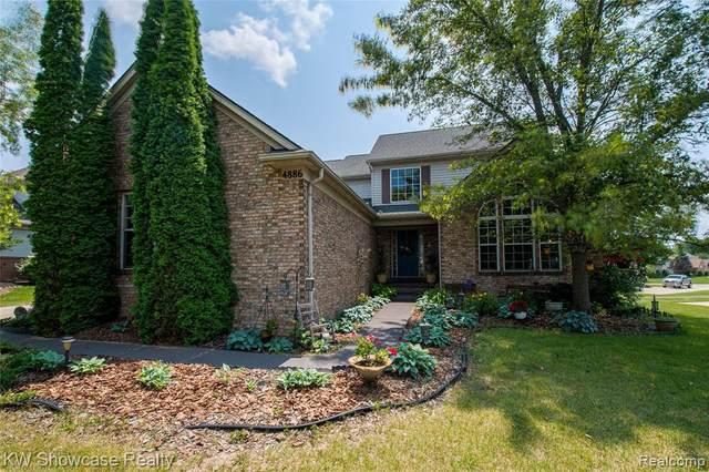 4886 Spring Meadow Dr, Clarkston, MI 48348 (MLS #2210053264) :: Kelder Real Estate Group