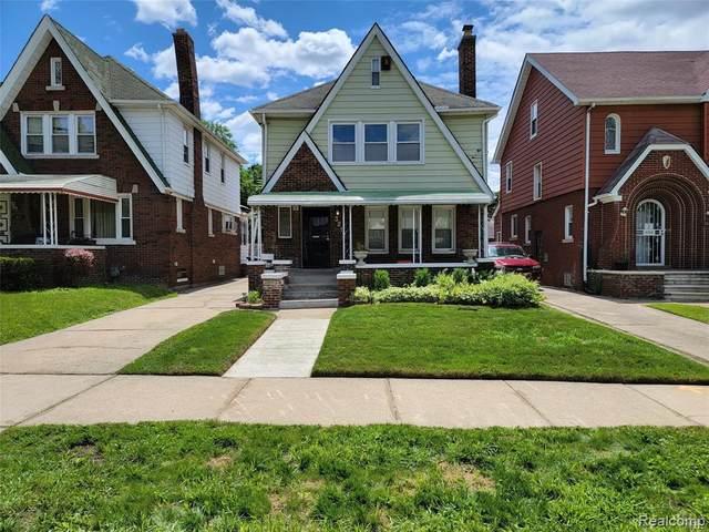 3217 W Buena Vista St, Detroit, MI 48238 (MLS #2210055677) :: Kelder Real Estate Group