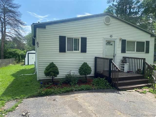 65 Oakmont, Auburn Hills, MI 48326 (MLS #2210057118) :: Kelder Real Estate Group
