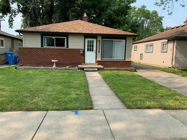 20036 Powers Ave, Dearborn Heights, MI 48125 (MLS #2210055166) :: Kelder Real Estate Group