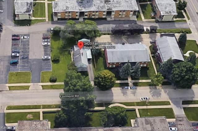 3420 Fairmont Rd, Royal Oak, MI 48073 (MLS #2210058083) :: The Tom Lipinski Team at Keller Williams Lakeside Market Center