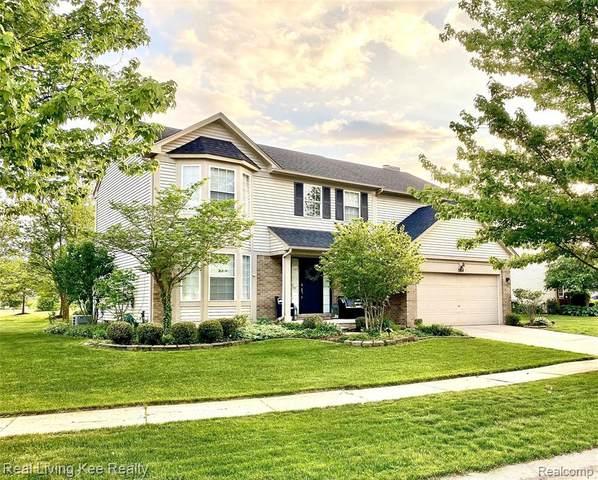 3184 River Meadow Cir, Canton, MI 48188 (MLS #2210059964) :: Kelder Real Estate Group