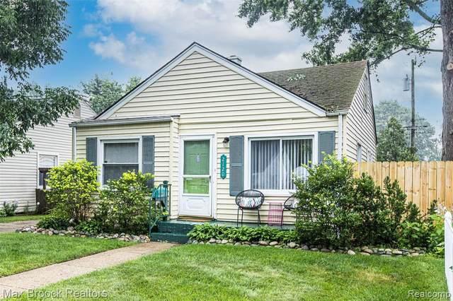 2120 Barrett Ave, Royal Oak, MI 48067 (MLS #2210060824) :: Kelder Real Estate Group