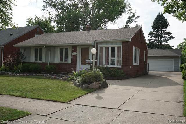 1922 Byrd St, Dearborn, MI 48124 (MLS #2210051663) :: Kelder Real Estate Group